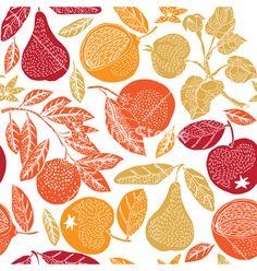 #houseofpatterns   Fruit season print vector on VectorStock®