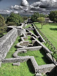 La zona archeologica di Altilia-Saepinum, Sepino, Campobasso, Molise