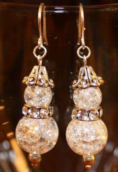 Snowman Earrings by JewelsByBrooke on Etsy, $10.00