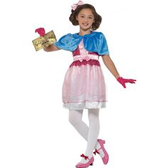 Shop for Official Licensed Roald Dahl Deluxe Veruca Salt Costume for children at Totally Fancy. Bring your Favourite Book Character to Life in our Deluxe Roald Dahl Veruca Salt Costume - Perfect for World Book Day & Roald Dahl Day! Veruca Salt Costume, Roald Dahl Collection, Roald Dahl Costumes, Roald Dahl Day, Authentic Costumes, Pink And White Dress, Pink Dress, Kid President, World Book Day Costumes