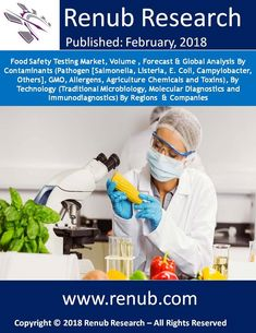 By the year 2024, Global Food Safety Testing Market is US$ 7 Billion opportunities. This report will let you know the different types of foodborne diseases as the analysts have studied in-depth and analysis the comprehensiveness of the foodborne diseases in details. This report studies, the Food safety testing market on the basis of Contamination, on the basis of Technology and on the basis of the Regions.