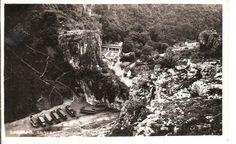 Cheddar 1946 postcard