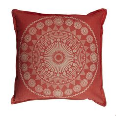 Pony Rider - Moroccan Red Cushion Cover