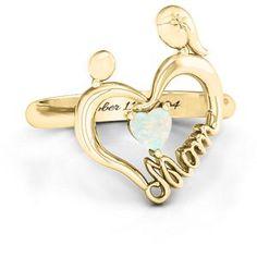 Unbreakable Bond Heart Ring #jewlr