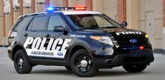 View detailed pictures that accompany our Ford Police Interceptor Sedan and Utility article with close-up photos of exterior and interior features. Ford Police, State Police, Police Cars, Police Officer, Police Vehicles, Police Truck, Ford Cougar, Ford Taurus Sho, California Highway Patrol