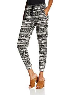 TALLY WEIJL Damen Hose Spavipalsi, Mehrfarbig (Black-Off White Hhaq), 32 Tally Weijl, Off White, Pajama Pants, Pajamas, Black, Fashion, Trousers, Pjs, Moda