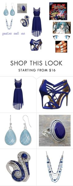 """""""You're Not Me by Yugioh"""" by ocean-goddess ❤ liked on Polyvore featuring Dorothy Perkins, Ted Baker, Liz Claiborne, NOVICA and Tiffany & Co."""