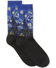 Hot Sox Starry Night Trouser Socks - Royal