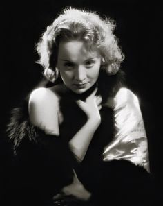 marlene dietrich 1931 - dishonored - by eugene robert richee