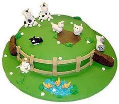 Farm Cake - ideas for Josh's Ag Day cake