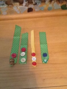Easy ribbon / button bookmarks !!!