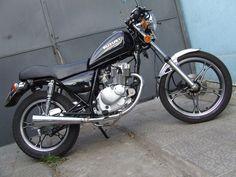 "Suzuki gn125 ""capuchino racer"" - Santiago Street Racing"
