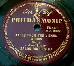 Air Chief Philharmonic vintage record label by SCVHA, via Flickr
