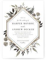 grande botanique customizable wedding invitation petite cards in