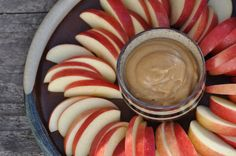 The Whole Life Nutrition Kitchen: Raw Caramel Dip for Apples. This is so good! 1 c cashews 1 c dates 1/4 c maple syrup 2 tap. Vanilla, soaking water soak cashews and dates2-3 hours mix in blender add soaking water as needed.