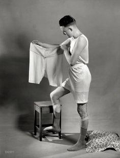 "1920s. ""Men's underwear."