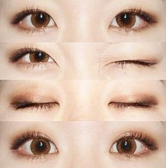 Image via We Heart It #asian #eyes #korean #makeup #ulzzang #ulzzanggirl #koreaneyes #makeupulzzang