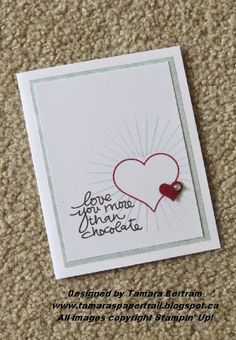 Handmade Cards; Kinda Eclectic; Groovy Kind of Love; Lovely Amazing You; Masking Technique; Stampin' Up!; Tamara's Paper Trail