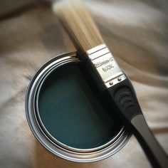 That feeling when you open the oil tin and the colour is even more beautiful than you expected ❤️ #osmo_uk in Labrador Blue is a natural oil paint to enhance your wood and give a solid colour appearance. 2501 Country Colour Labrador Blue