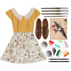 """""""The Artist"""" by egalexander on Polyvore"""