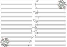 For notebook. Monogram