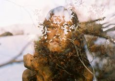 Shooting Film: Impressive Double Exposure Portrait Film Photography by Amy Chu