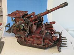 Looted Basilisk by Kingredgo, GW Flickr pool.