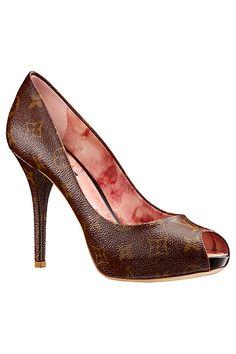 Louis Vuitton Accessories 2013 Summer #Shoeds #Heels #LV #LouisVuitton