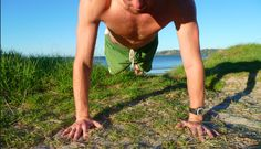How to do a proper push up. This is more info about dreaded pushups than I ever thought there could be. Plus, tips on how to get better at said dreaded pushups.
