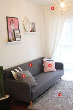 Karol Pinheiro » Clicou, comprou: a decoração da minha sala