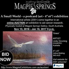 ..ART LOVERS.. Come out - come out - where ever you are!!!! We NEED you!!!! Online auction / finishes 15th Jan........COME SEE the originals exhibition in South Australia Magpie Springs!! Proceeds for Cancer Research #art #drawn #instartist #art  #painting #oilpainting  #artsy #beautiful #instaartist #artoftheday #artist #artcollector #exhibition #gallery #australianart #australianartist #originalart #decorator #artstudio #artlife #fineart #artnews #photography #photograph…