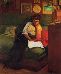 Giorgio Kienerk. Italian Painter, Sculptor (1869 - 1948)