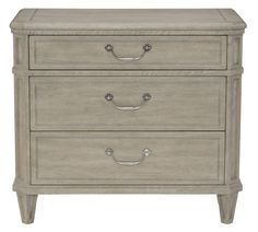 What a great little nightstand! What color would you paint it?