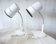 White Lampukas Table Lights (Valinte 24219).