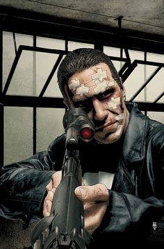 The Punisher - Tim Bradstreet