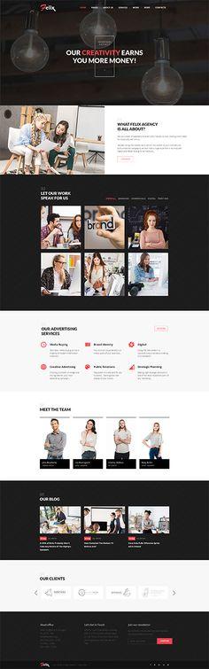 Felix Advertising Agency WordPress Theme WordPress Theme