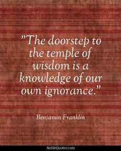 Benjamin Franklin Quotes   http://noblequotes.com/