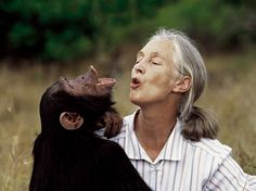 Jane Goodall - british primatologist, ethologist, and anthropologist/UN messenger of peace.