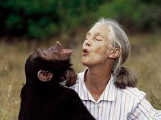 Jane Goodall - british primatologist, ethologist, and anthropologist/UN messenger of peace.