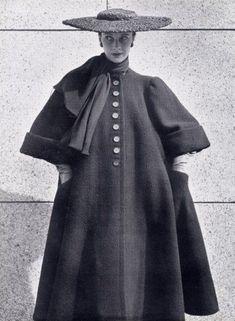 Balenciaga tenue d'hiver 1951