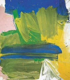 Willem de Kooning, Villa Borghese, 1960. Oil on canvas, 79 15/16 x 70 1/16…