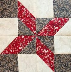Red Rooster Quilts: Shop | Category: Patterns - Download for FREE | Product: Clay's Choice Downloadable Quilt Block Pattern