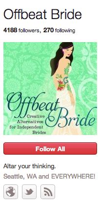 """Offbeat Bride.  This book is great and puts a lot of things into perspective even if you're not going to have an """"offbeat"""" wedding!"""