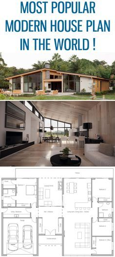 Modern Shipping container house design
