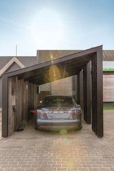 63 Top Amazing and Modern Carport Design - Room Destination Design Garage, Carport Designs, Pergola Designs, House Design, Design Room, Carport Garage, Pergola Carport, Pergola Plans, Diy Pergola