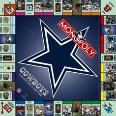 MONOPOLY: Dallas Cowboys™ Collector's Edition | USAopoly