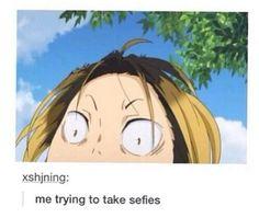 anime, haikyuu, and funny image