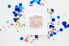 The easiest (and cutest!) DIY confetti birthday cards