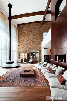 High ceilings and Carpets