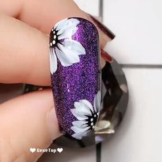 Fancy Nails Designs, Beautiful Nail Designs, Nail Art Designs, Design Tutorials, Design Ideas, Gel Nail Tutorial, Fingernails Painted, Beauty Hacks Nails, Nail Art Videos